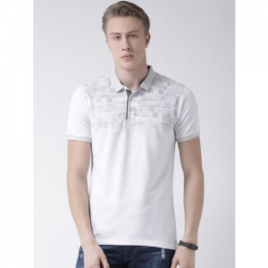 COBB white chest print t-shirt