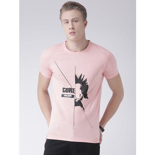 COBB pink front print t-shirt