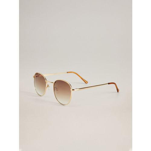 MANGO Women Oval Sunglasses 67030552
