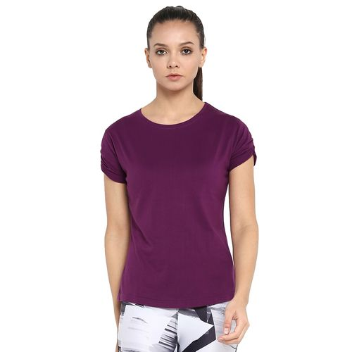 Ap'pulse round neck solid tee