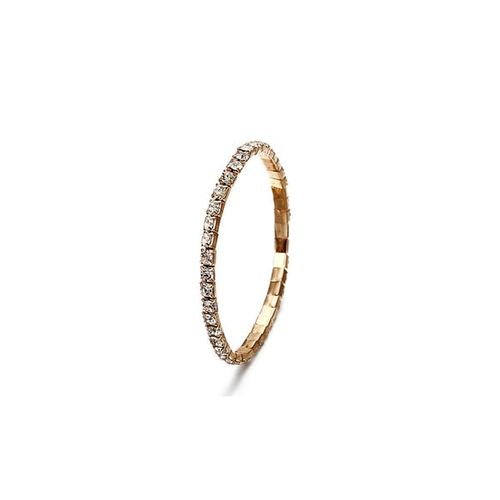 Best Valentine Gift:: Jewels Galaxy Women's Fashion Gold Plated Brilliant Bracelet for Women/Girls (Style 2)
