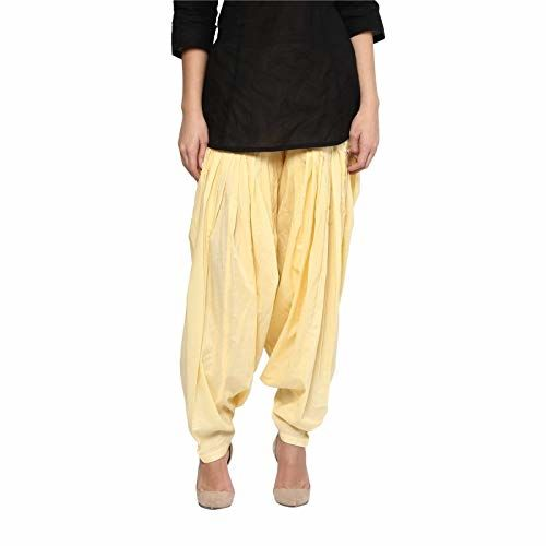 Pal Bro's Store 100% Cotton Readymade Salwar - (Free Size ; Beige)