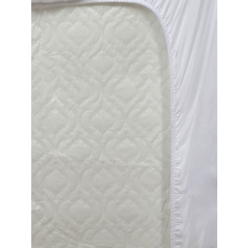 Portico New York White Single Bed Water Resistant Mattress Protector