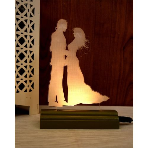 ZULKA Get your traditions ZU_3D Couple (wb7) 6 Table Lamp(17 cm, Dark Green)
