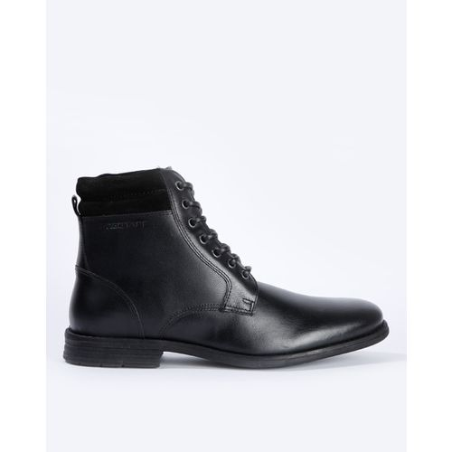 RED TAPE Textured Ankle-Length Boots