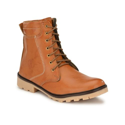 GUAVA Mid-Top Lace-up Boots