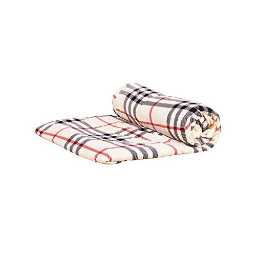 Story@Home Feather Single Collection White Micro Fiber and Flannel Feather Dohar/AC Quilt