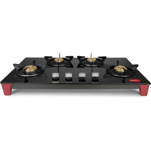 Pigeon Infinity Stainless Steel Manual Gas Stove(4 Burners)