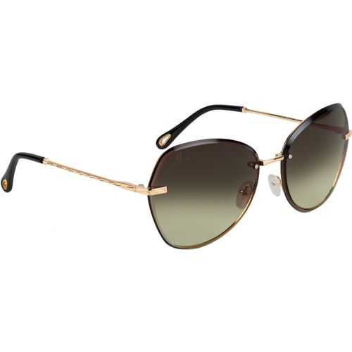 Aislin Butterfly, Over-sized Sunglasses(Brown)