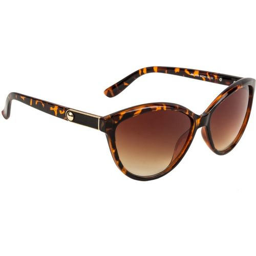 Farenheit Cat-eye Sunglasses(Brown)