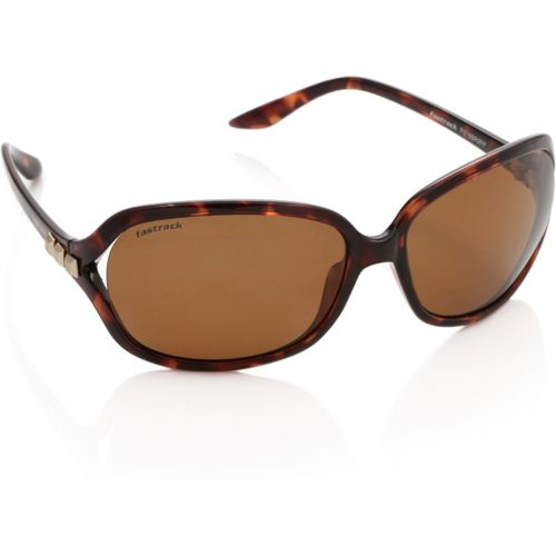 Fastrack Over-sized Sunglasses(Brown)