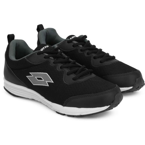 Lotto Terzo Running Shoes For Men(Black)