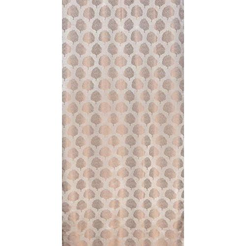 Fresh From Loom Luxury Eyelets Polyester 7ft Door Curtain Screen Parda Screen Parda Curtain Screen Pardas (Beige) -2 Pieces