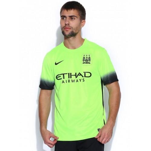 74a153e15c62e5 Buy Nike Neon Green MCFC T-shirt online