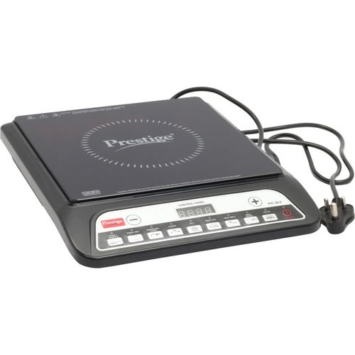 Prestige PIC20 Induction Cooktop(Black, Push Button)