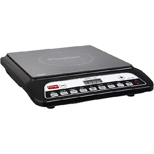 Prestige 1200 Watt Induction Cooktop with Push button (Black) Induction Cooktop(Black, Push Button)