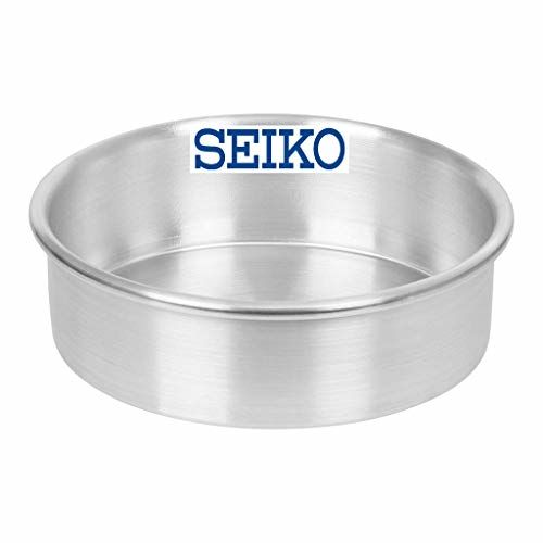SEIKO Aluminium Baking Round Cake Pan/Mould for Microwave Oven - 6 Inch