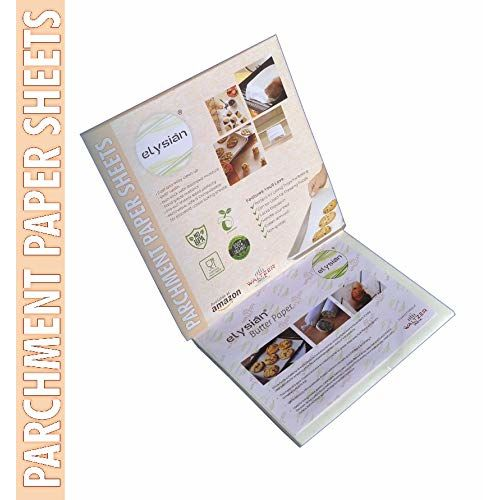 WI Butter Paper/Bulk Parchment Paper for Cooking,Eco-Friendly,Non-Bleached,Non-Wax,Non-Stick Paper Suit for Food, Baking,Cookie,Dutch Oven,Toaster Size-10x10