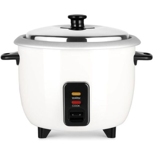 Pigeon JOY SINGLE POT AUTOMATIC MULTI COOKER WARMER Electric Rice Cooker with Steaming Feature(1 L, White)