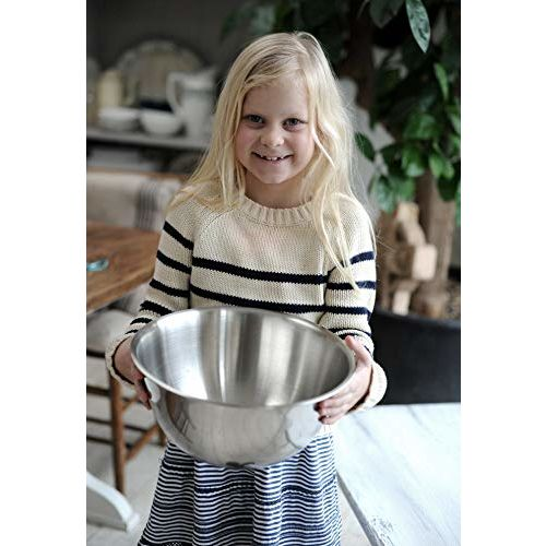 LIEFDE Stainless Steel DEEP Mixing Bowl 20 cm, 2000 ML