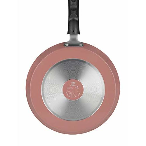 Pigeon by Stovekraft Basics Aluminium Non-stick Cookware Set, Set of 3 (With one lid), Pink