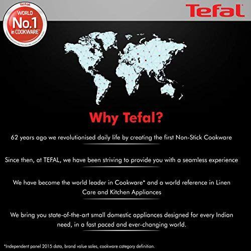 Tefal Hard Titanium with Non-Stick Fry Pan, 28cm (Black)