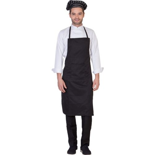 Dress.com Blended Chef's Apron - Free Size(Black, Single Piece)