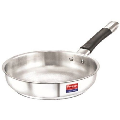 Prestige Platina Fry Pan 26 cm diameter(Stainless Steel, Induction Bottom)