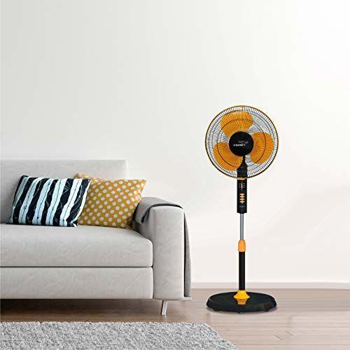 V-Guard Esfera Pedestal Fan with Remote