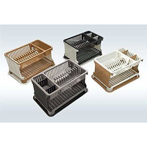 ARISTO Lenovo Kitchen Organizer Rack with water storing tray (Multi Colour)