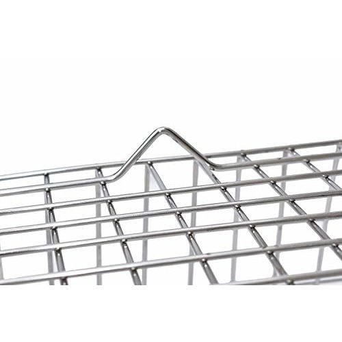 Clasiko Heavy Stainless Steel Dish Drainer/Dish Drain Rack/Plate Stand; Size - No.2; 17x21x7 Inches