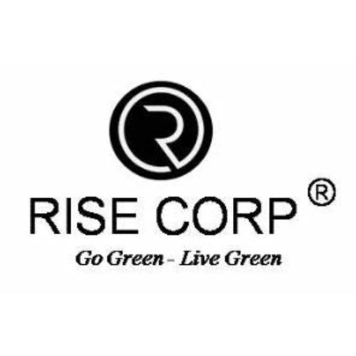 Rise Corp Round Iron Stand for Home Decor Black (Set of 3)