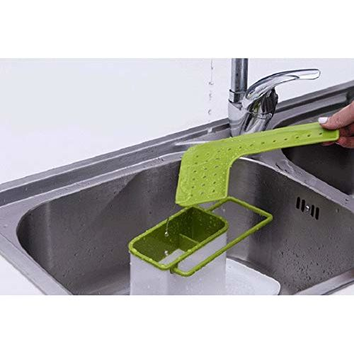 Topinon High Quality 3 in 1 Plastic Shelves Multifunctional Kitchen Storage Racks Sink Utensils Holder Drain Shelf Accessories Organizer