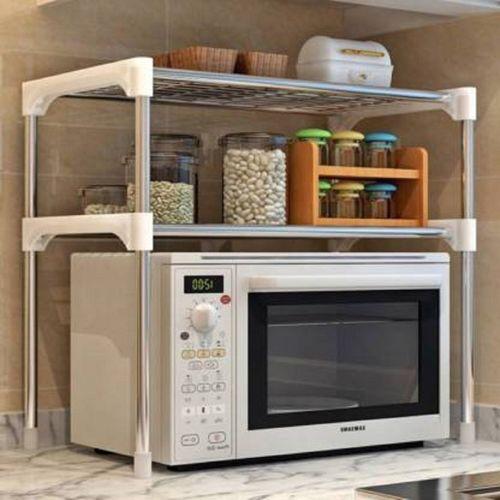 CMerchants Kitchen Utility Space Saving Kitchen rack Utensil Kitchen Rack(Carbon Steel)