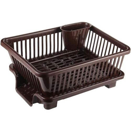 3D METRO SUPER STORE 3 IN 1 Large Sink Set Dish Rack Drainer Multi-Function creative dish racks Washing Holder Basket Organizer With Tray For kitchen Plastic