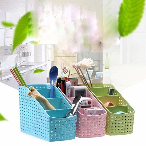 Other Plastic 4 Compartment Utensils Holder for Spoons, Knives, Forks, Chopsticks Shakers