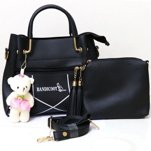 bandicoot Black Hand-held Bag
