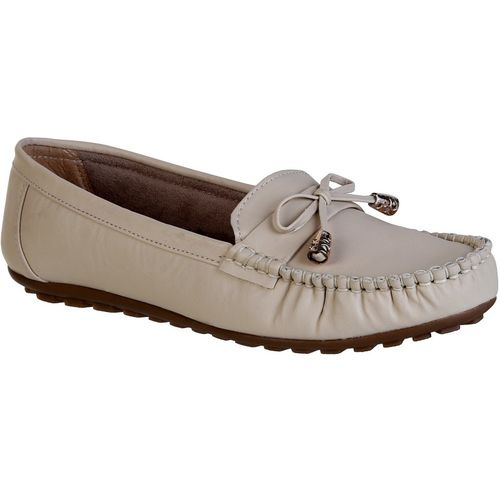 Zappy New Latest Design & Stylish Loafers For Women(Beige)