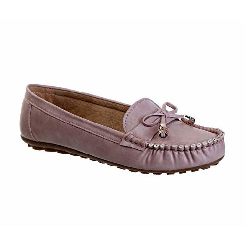 CatBird L.Pink Synthetic Casual Loafers