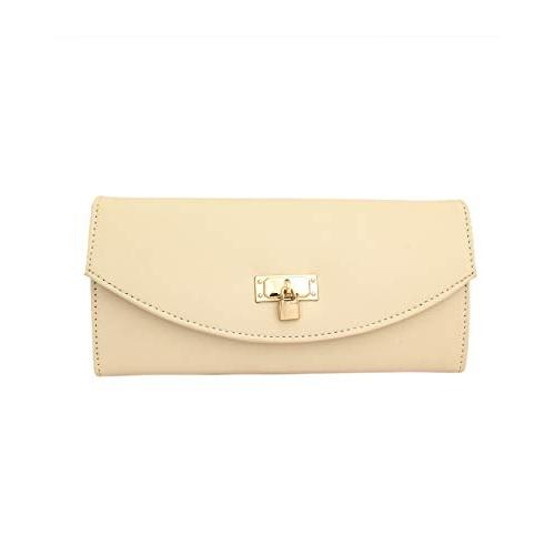 I DEFINE YOU Cream Handbag With Sling Bag