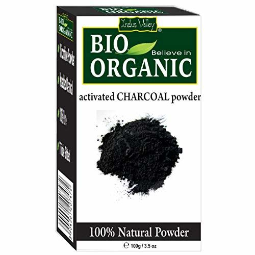 Indus Valley 100% Organic Activated Carbon(Charcoal) Powder(100 g)