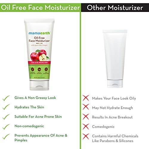 Mamaearth Oil-Free 80 ml Apple Cider Vinegar Moisturizer