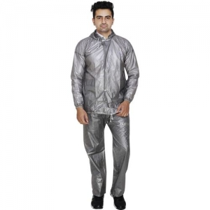 REXBURG Solid Men Raincoat
