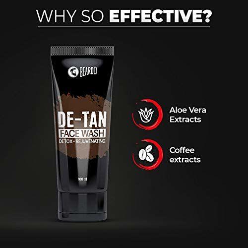 Beardo De-Tan Facewash for Men, 100 ml | Made in India