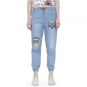 SAIRA FASHION Jogger Fit Women Light Blue Jeans