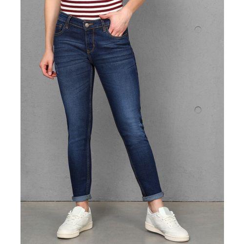 Metronaut Skinny Women Dark Blue Jeans