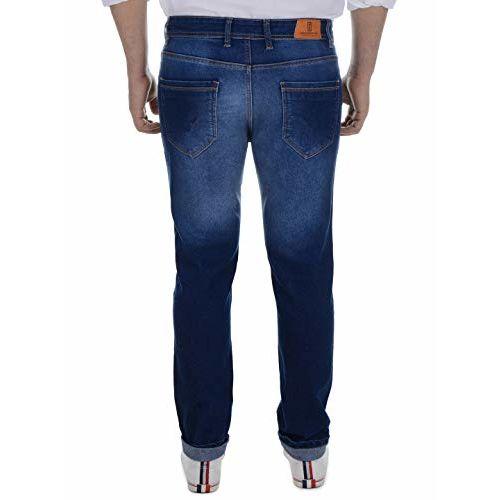 Ben Martin Dark Blue Denim Relaxed Fit Jeans