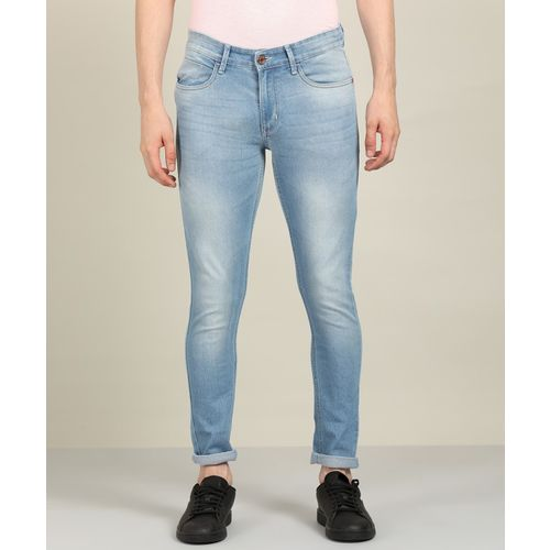 NUMERO UNO Skinny Men Light Blue Jeans