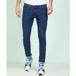 Peter England University Skinny Men Blue Jeans