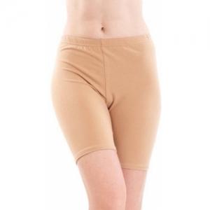Apraa Solid Women Beige Sports Shorts